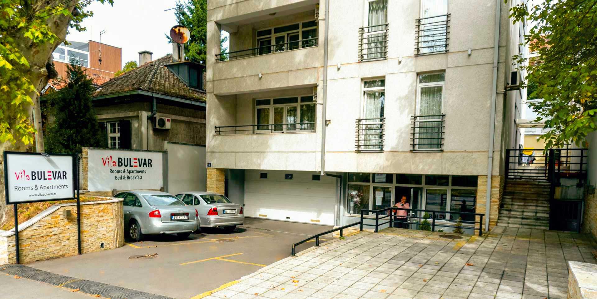 parking vila bulevar beograd